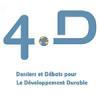Logo des 4D - Dossiers et Débats pour le Développement Durable