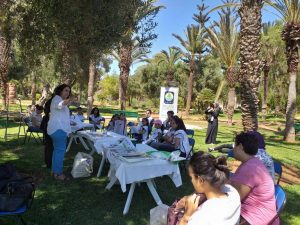 Participants à l'événement de section d'agadir