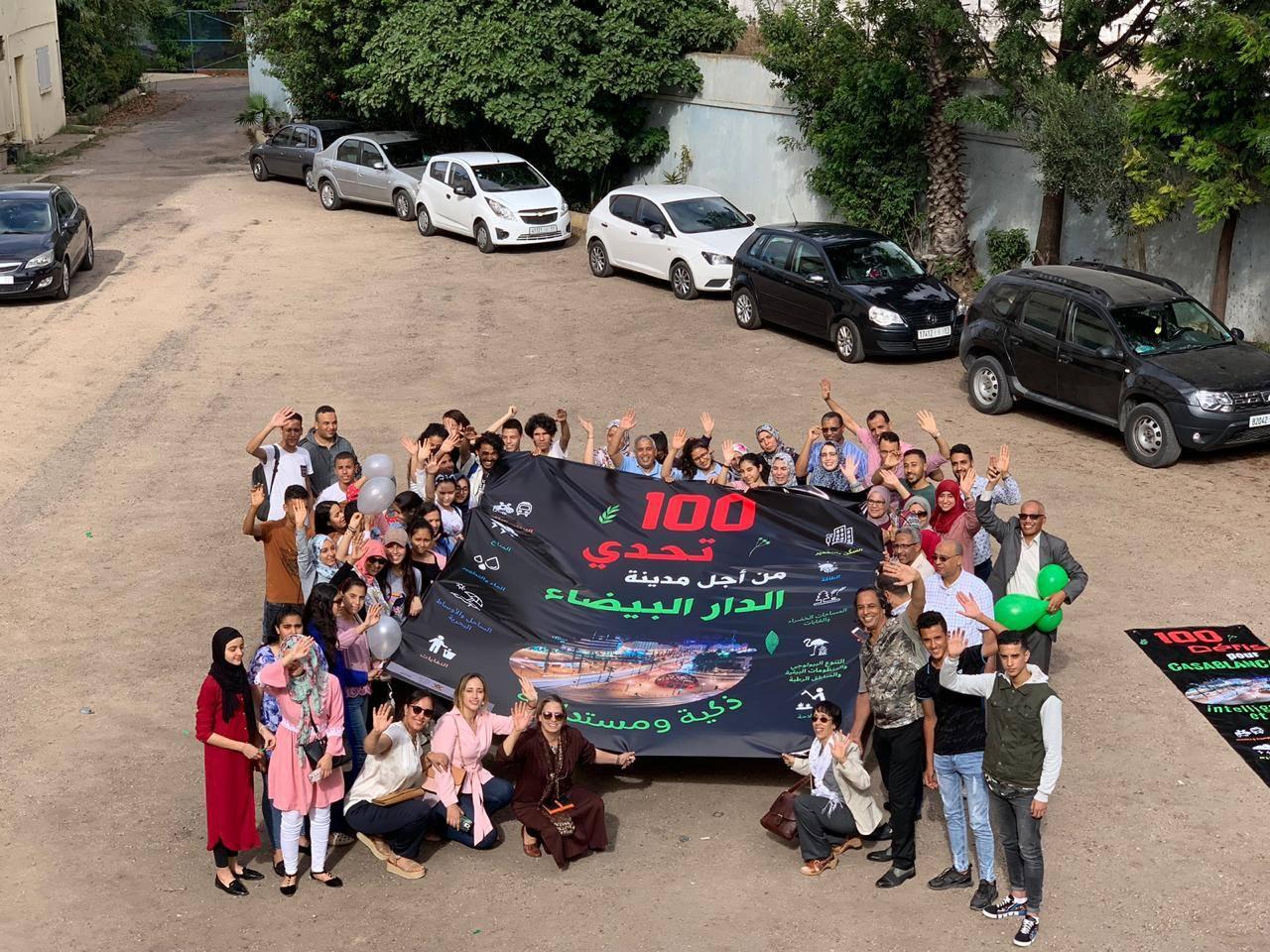 participants événement 100 défis au ccee 2