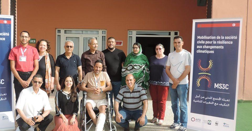 Représentants des OSC formés dans le cadre du projet MS3C