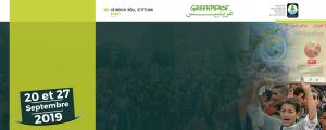 Marche des jeunes pour le climat, septembre 2019, Maroc.